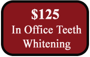 125 Teeth Whitening Special